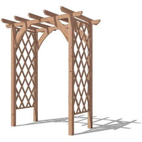 Pergola Jasmine - Lattice Trellis Arch Wooden Furniture Garden Plant Frame