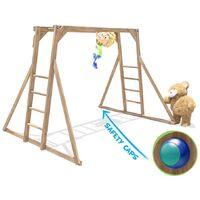 Kids Monkey Bars Pressure Treated Childrens Wooden Climbing Frame UK