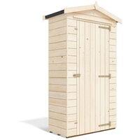 Tool Shed Talia 4x2 - Sentry Box Wooden Garden Storage Customisable Shelf Tool Rail Roof Felt