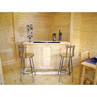 Bar Counter Man Cave Home Bar Party Lounge Wood Summer Garden Bar BBQ