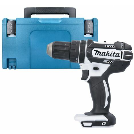 Makita DHP482Z White LXT Li-ion 18V Combi Drill With 821551-8 Type 3 Case