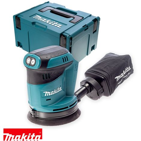 Makita DBO180Z 18V li-ion Random Orbit Sander With Type 3 Case
