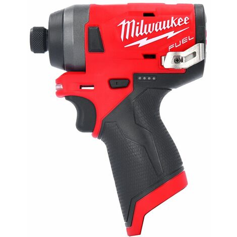 Milwaukee M12FID-0 12V Cordless Fuel Compact 1/4 Hex Impact Driver GEN 2 Body Only