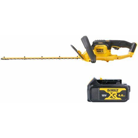 DeWalt DCM563 18V XR Hedge Trimmer Cutter With 1 x 4.0Ah Battery