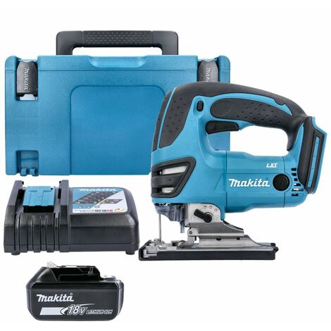 Makita DJV180Z 18V LXT li-ion Jigsaw With 1 x 4.0Ah Battery, Charger, Case & Inlay