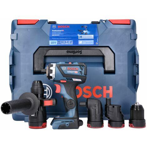 Bosch GSR 18 V-60 FCC Flexi Click Professional Drill Driver in L-Boxx 06019G7103