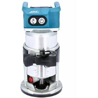 Makita DRT50ZJ 18V Cordless Brushless Router/Trimmer With 1 x 5Ah Battery, Charger & Case