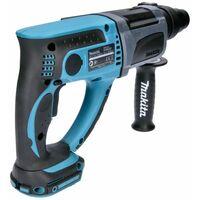 Makita DHR202 18V SDS Plus Hammer Drill With 4 Piece SDS Chisel Set