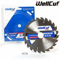 WellCut TCT Saw Blade Profi 180mm x 24T x 30mm Bore