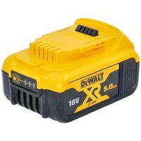 DeWalt Genuine DCB184 XR Lithium-Ion 5.0Ah Battery Twin Pack