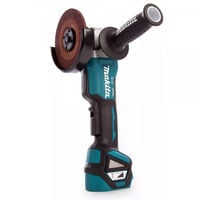 Makita DGA517 18V Angle Grinder 125mm With 2 x 5Ah Batteries, Charger & Case