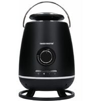 TOUGH MASTER 360 Degree Ceramic Fan Heater 1800W: Carry Handle & Wireless Remote