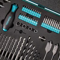 Makita P-90261 PRO XL Drill & Bit Accessory Set 70 Piece