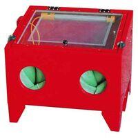 Limpiador a presión con arena SANDBLASTER para mesa