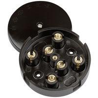 Dencon 20A Junction Box 4 Terminal Entry Points Electrics Light Plug Heavy Duty