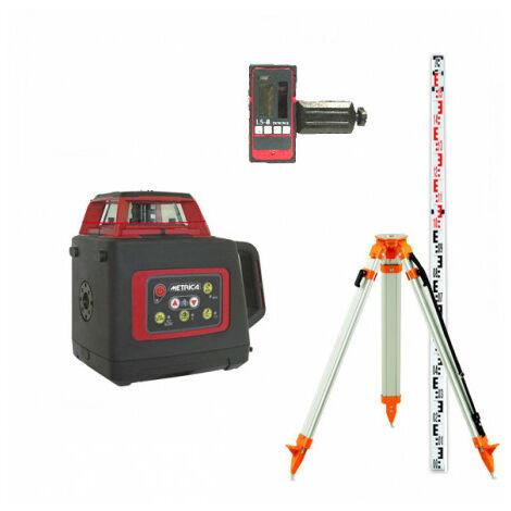 Niveau Laser Rotatif Metrica Sl Red - Trépied Et Mire