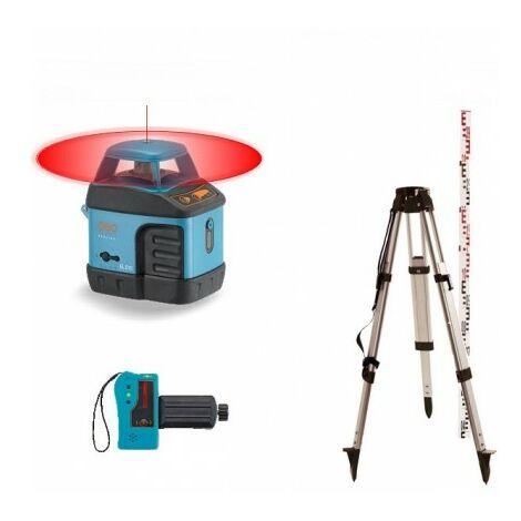 Niveau Laser Rotatif Geofennel écoline El 515 - Pack Trépied Et Mire 4m