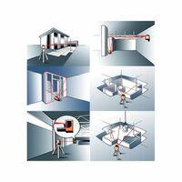 Niveau Laser Rotatif Metrica Rotativo Hv4 - Trépied Et Mire