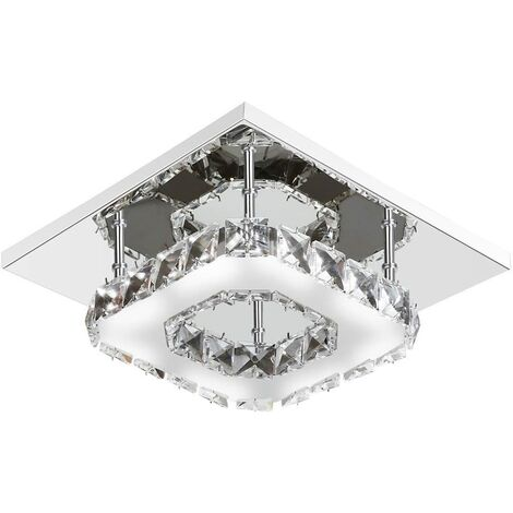 Modern 20cm 12W LED Crystal Ceiling lights chandeliers Aisle light, Cool white