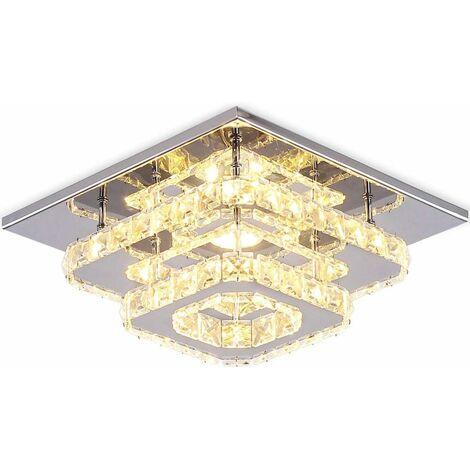 Modern 30cm 12W LED Crystal Ceiling lights chandeliers Aisle light, Warm White