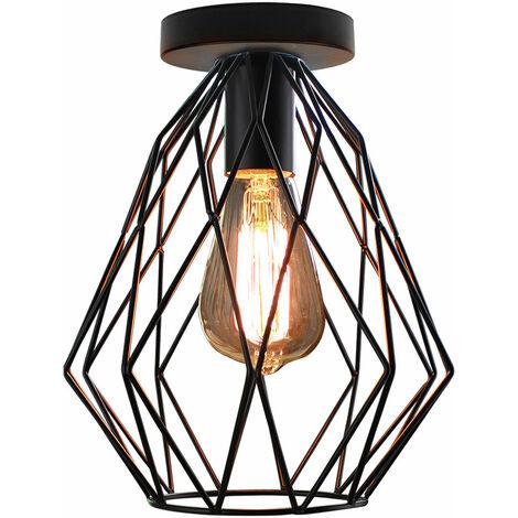 Industrial Vintage Ceiling Light Retro Ceiling Lamp Metal Ceiling Light for Indoor