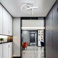 Modern Led Ceiling Light White Nordic Style Chandelier Creative Design Ceiling Lamp for Bedroom, Kitchen, Living Room, Corridor, Restaurant, Balcony, Cold White