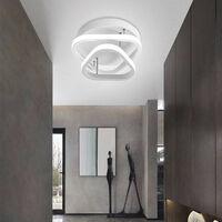 Modern Led Ceiling Light Nordic Style Acrylic Chandelier Creative Design Ceiling Lamp White for Bedroom, Kitchen, Living Room, Corridor, Restaurant, Balcony, Cold White