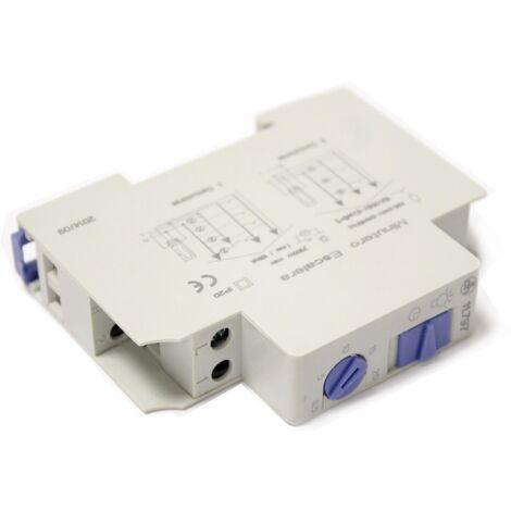 BeMatik - Temporizador electrónico para carril DIN 35mm