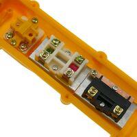 BeMatik - Caja de 2 pulsadores momentáneos y 2 conmutador y parada de emergencia de la serie COB
