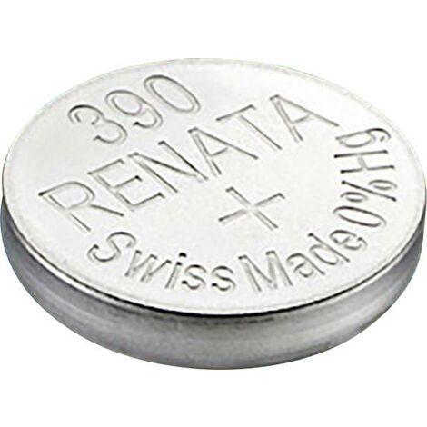 Pile bouton 390 oxyde d'argent Renata 60 mAh 1.55 V 1 pc(s) X92295