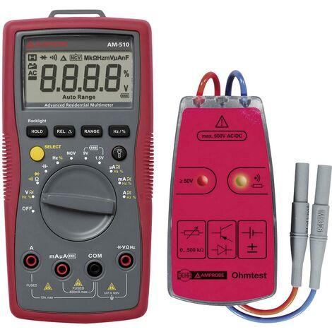 Set multimètre + testeur de continuité 9072-D Beha Amprobe Bundle 1 AM-510-EUR Y419211