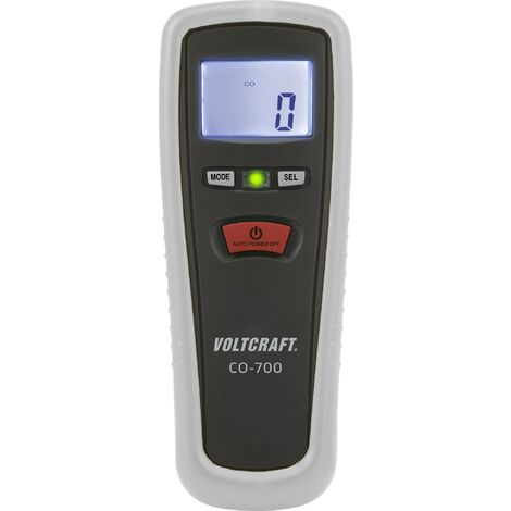 Mesureur de monoxyde de carbone Analyseur de gaz de carbone Testeur de gaz CO portable pour bureau avec plage de mesure 0 ~ 1000 PPM