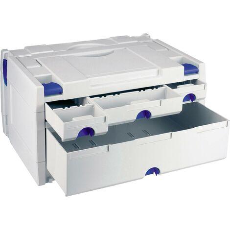 Boîte à outils vide Tanos systainer III Variante 1 80000017 plastique, ABS (L x l x H) 400 x 300 x 210 mm 1 pc(s) X697371