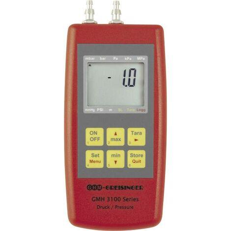 Appareil de mesure de la pression Greisinger GMH3181-002 pression atmosphérique, gaz non agressifs, gaz corrosifs -0.005 - +0.005 bar Y732191