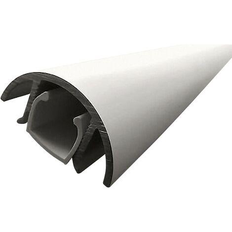Cache câbles aluminium (L x l x H) 1000 x 30 x 15 mm argent (mat, anodisé) Contenu: 1 pc(s) Alunovo MAL-100 Q032811
