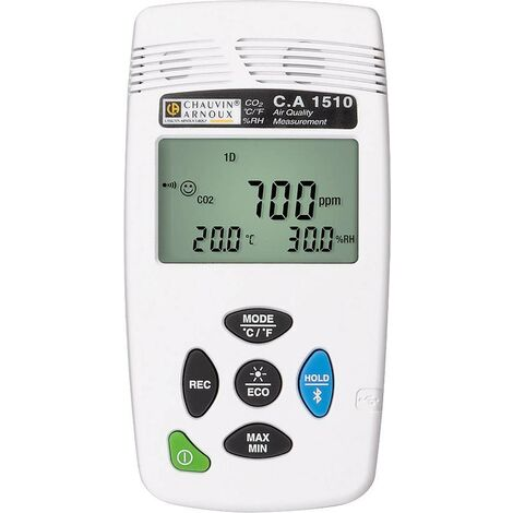 Appareil de mesure du dioxyde de carbone Chauvin Arnoux C.A 1510 white P01651011 X889601