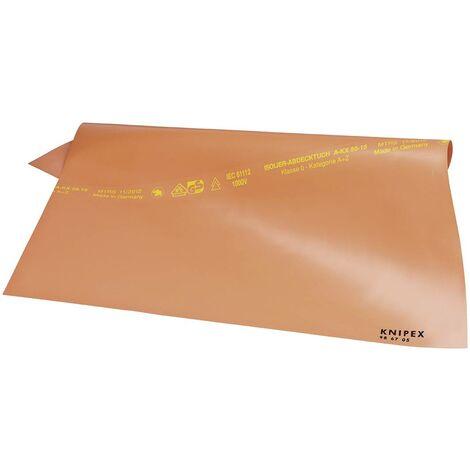 Nappe isolante en caoutchouc 1000 x 1000 mm Knipex 98 67 10 C58042
