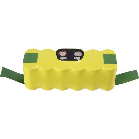Batterie pour aspirateur 14.4 V 3300 mAh Conrad energy CE-1665418 remplace la batterie d'origine Roomba 500 D 1 pc(s) X831961