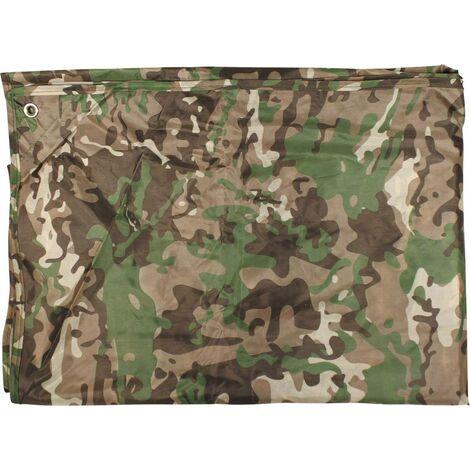 1,5 x 6 m imprim/é camouflage 90 g//m/² Westfalia B/âche de protection imperm/éable pour le bois