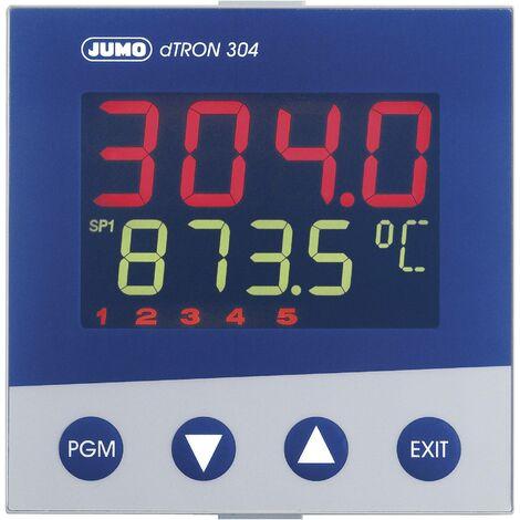 Régulateur de température PID Jumo dTRON 304 703044 Pt100, Pt500, Pt1000, KTY11-6, L, J, U, T, K, E, N, S, R, B, C, D -200 à +2400 °C Relais 3 A, Q06415