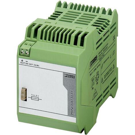 Onduleur (ASI) industriel - Installation (rail DIN) Phoenix Contact MINI-BAT/24DC/0.8AH S99466