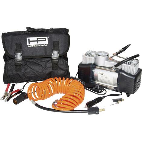 Compresseur 7 bar HP Autozubehör 21262 2 cylindres, manomètre analogique, sacoche ou coffret de rangement D32906