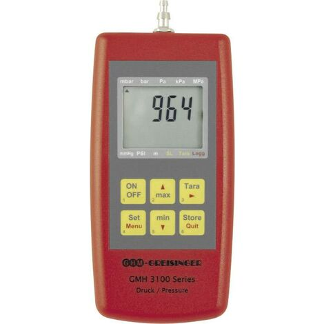 Appareil de mesure de pression portatif Sensor GMH 3161-12 Greisinger Y732181
