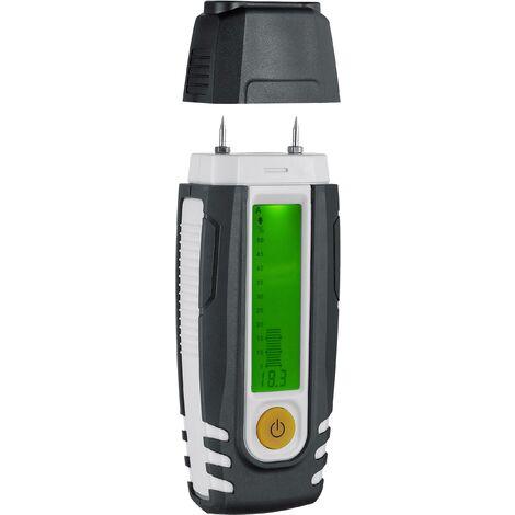 Humidimètre pour matériaux Laserliner DampFinder Compact 082.015A Plage de mesure de l'humidité de construction 0 à 38.1 % vol Plage de mesure de S907551
