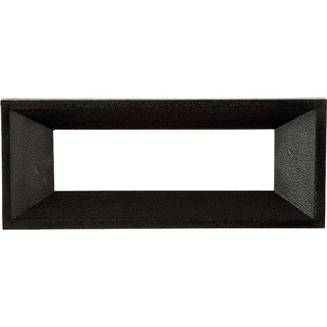 Cadre avant Strapubox AR 3 noir Adapté pour: écran LCD à 3 caractères plastique 1 pc(s) Q16828