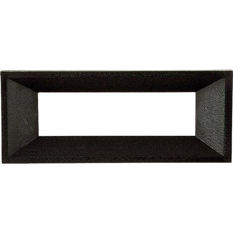 Cadre avant Strapubox AR 4 A noir Adapté pour: écran LCD à 4 caractères plastique 1 pc(s) Q63393