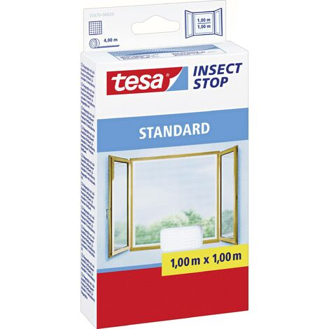 Moustiquaire pour fenêtre tesa 55670-20 (L x l) 1000 mm x 1000 mm blanc 1 pc(s) S27100