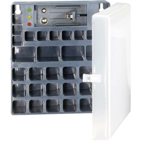 Boîte de piles LR3 (AAA), LR6 (AA), 6LR61 (9 V) Conrad energy 651818 (L x l x H) 140 x 125 x 60 mm X39696