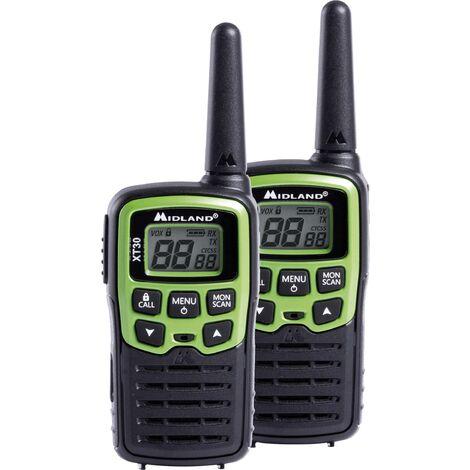 Talkie-walkie PMR Midland XT30 C1177 jeu de 2 1 pc(s) S261821
