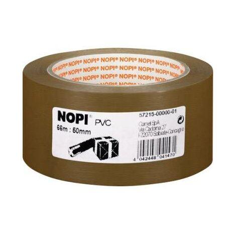 Bande d'emballage Nopi 57215-00000 Nopi® marron (L x l) 66 m x 50 mm 1 pc(s) S317411